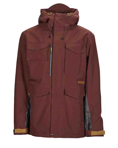 RANSACK INSULATED JACKET MAROON