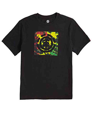BOY RASTA LOGO FLINT BLACK