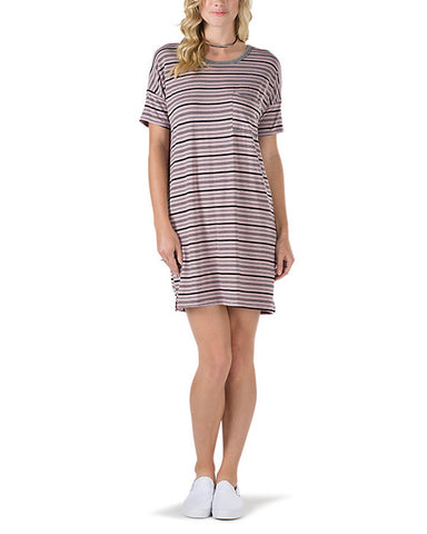 REEK HAVOC TEE DRESS SEA FOG