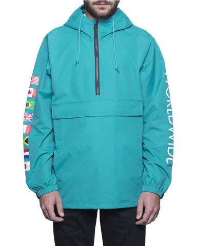 REGIONAL TOUR ANORAK TROPICAL GREEN