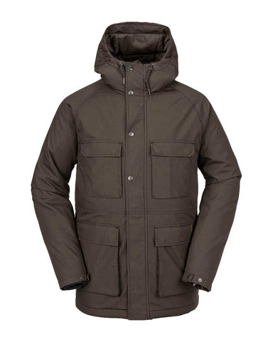 RENTON WINTER 5K JACKET MAJOR BROWN