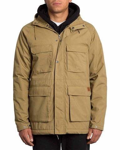 RENTON WINTER 5K JACKET DARK KHAKI