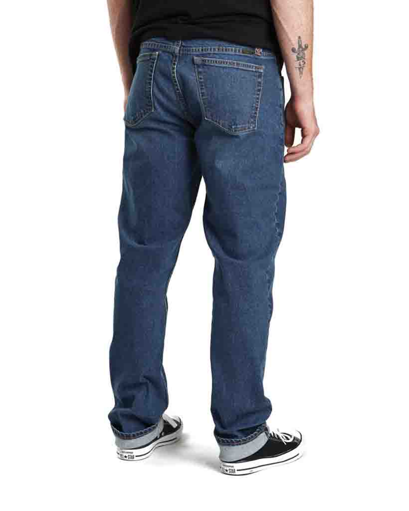 BRIXTON RESERVE Jeans 5-POCKET DENIM PANTS WORK INDIGO