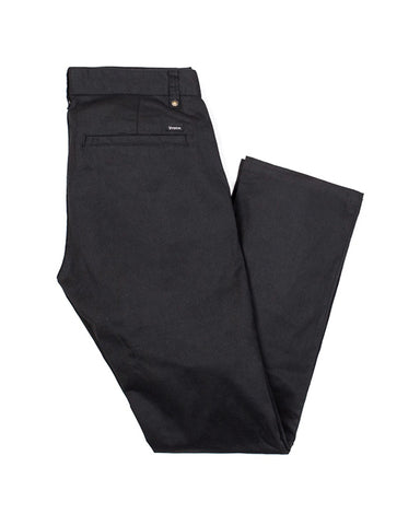 CHINO RESERVE STANDARD STRAIGHT FIT PANT BLACK