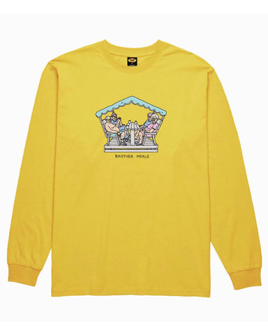 RETIRED CLUB L / S YELLOW