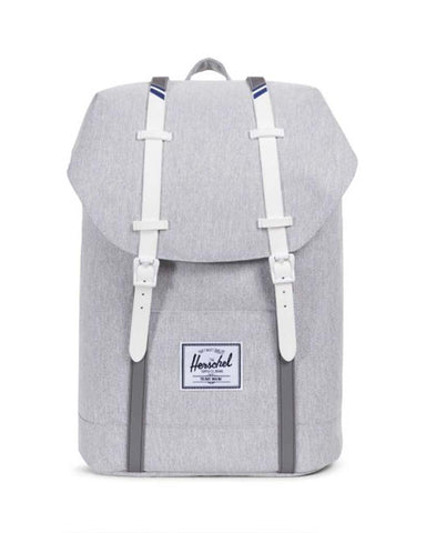 RETREAT 600D POLY LIGHT GREY WHITE