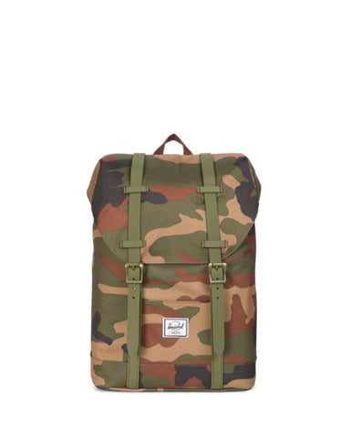 RETREAT 600D POLY YOUTH WOODLAND CAMO