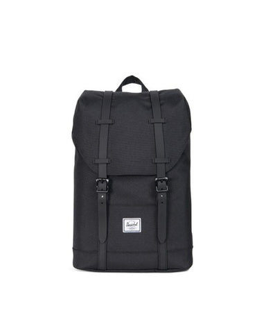 RETREAT YOUTH POLY RUBBER BLACK/BLACK RUBBER 14L