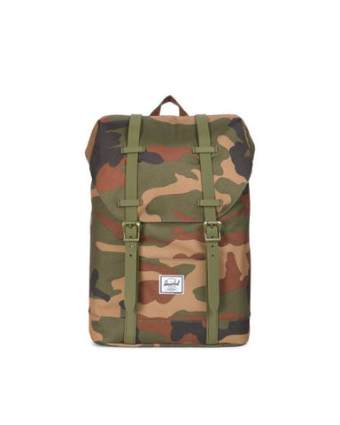 RETREAT YOUTH POLY/RUBBER WOODLAND CAMO 14L