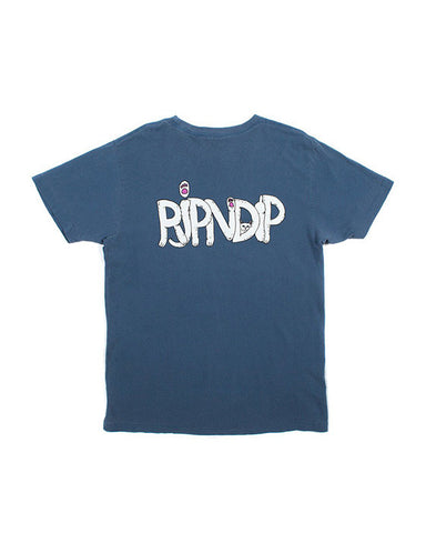 RIPNDIP PAWS WASHED BLUE