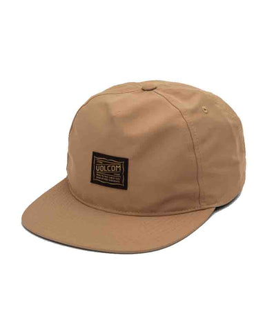 ROAD TEST HAT - DULL GOLD
