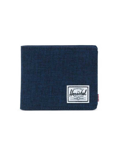 ROY WALLET COIN MEDIEVAL BLUE CROSSHATCH