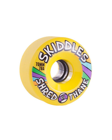 SKIDDLES 70MM 78A YELLOW