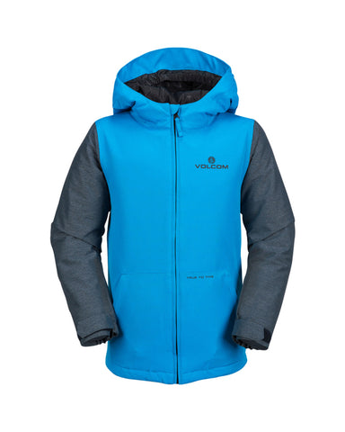 SELKIRK YOUTH INS JACKET BLUE