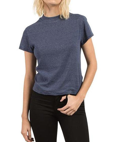 SHE SHELL TEE NAVY