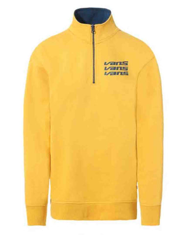 SIGN IT MOCK ZIP CREW MANGO SWEATER MOJITO