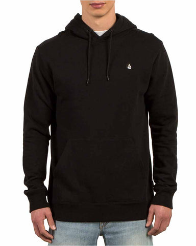 SINGLE STONE HOODIE BLACK