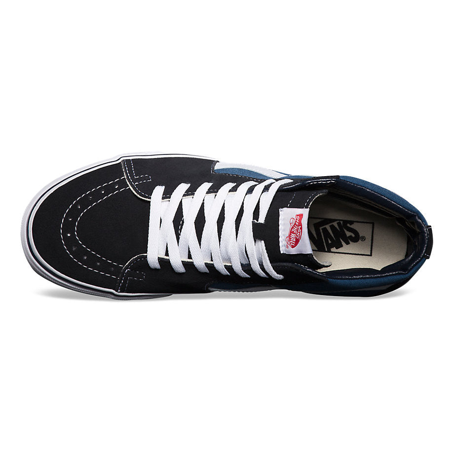 VANS SK8-HI NAVY / WHITE shoes