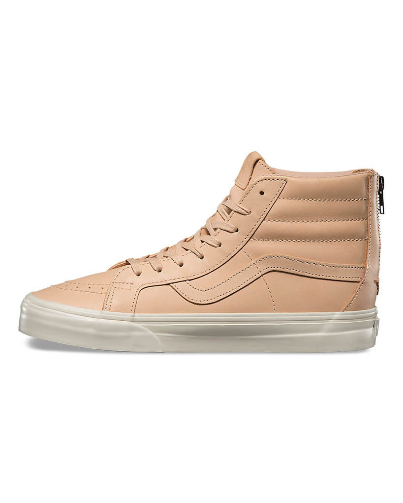 Souliers VANS SK8-HI REISSUE ZIP DX VEGGIE TAN LEATHER