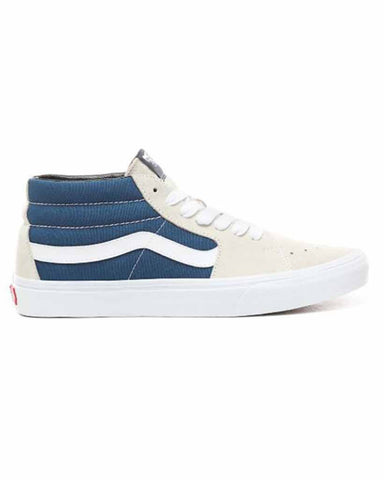 VANS SK8-MID RETRO SKATE TURTLEDOVE SKATE SHOES