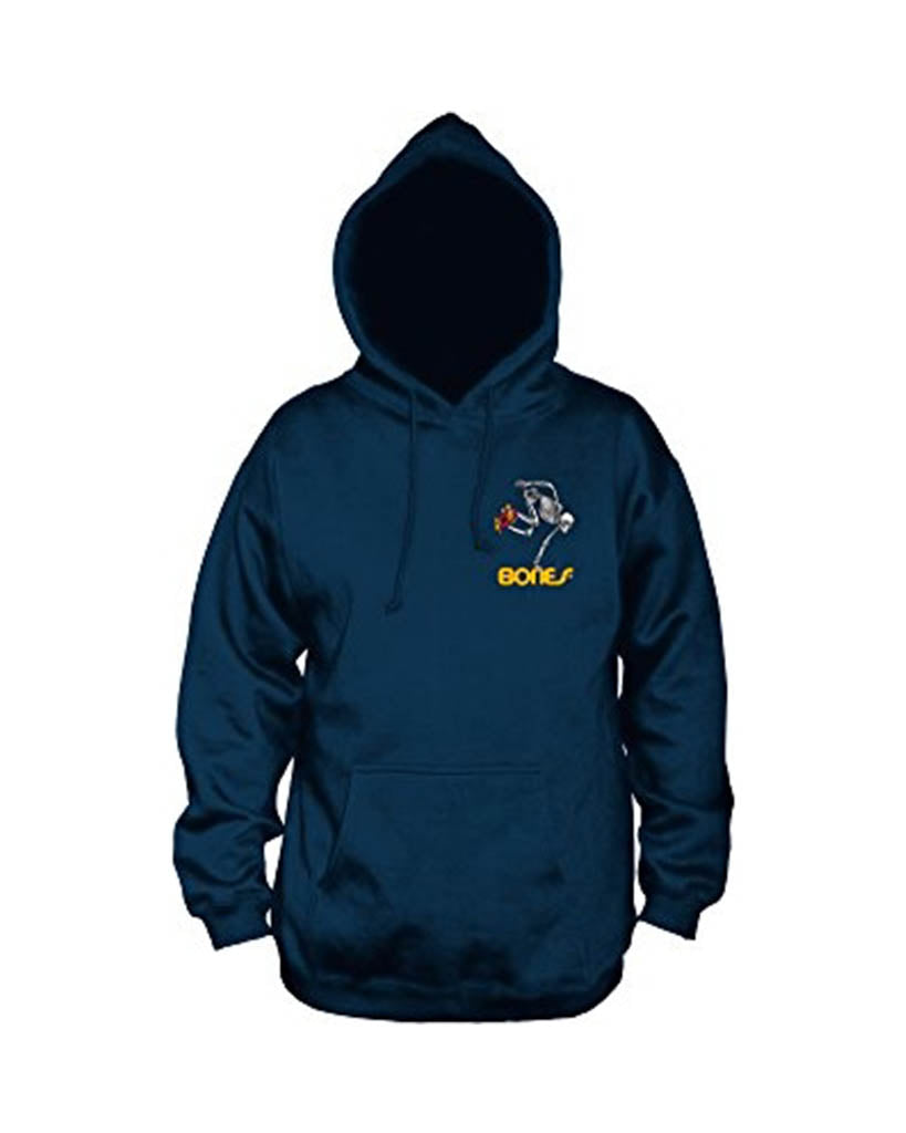 POWELL PERALTA SKATEBOARD SKELETON NAVY Hoodie