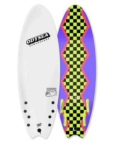 SKIPPER-QUAD-5'6 WHITE / 80'S STEEZE