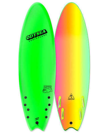 "SKIPPER-QUAD-6'6"" NEON GREEN"