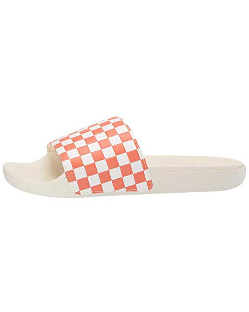 Sandales VANS WOMENS SLIDE-ONE CHECKERBOARD CARNELIAN