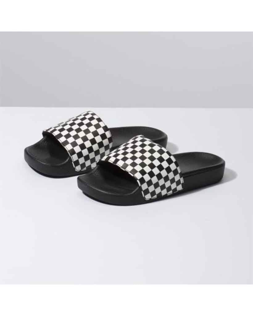 VANS SLIDE-ON JUNIOR CHECKERBOARD Shoes