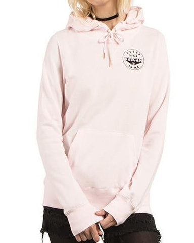 SLIDIN HOODY BARELY PINK