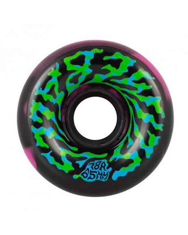 SLIME BALLS SWIRLY BLACK-PINK 78A 65MM