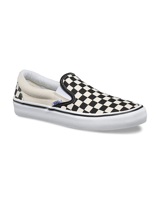 Shoes VANS SLIP-ON PRO CHECKERBOARD