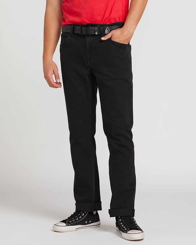 "SOLVER MODERN FIT 16"" JEANS BLACKOUT"