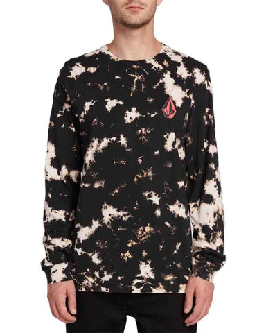 STATIC NOISE LONG SLEEVE TEE - TIE DYE