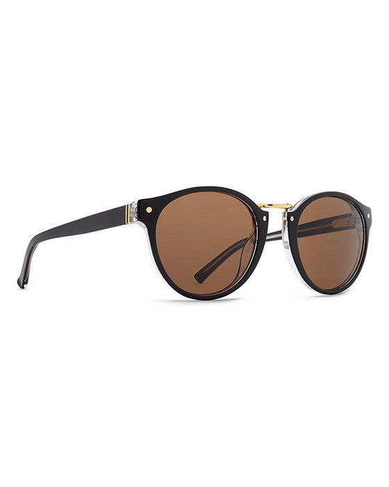 VON ZIPPER STAX BLACK CRYSTAL BRONZE Sunglasses