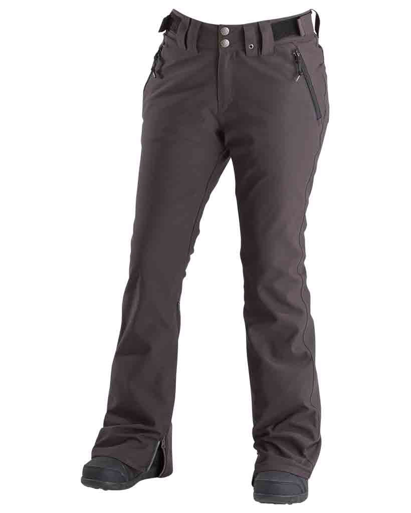 Snow pants AIRBLASTER STRETCH CURVE PANTS VINTAGE BLACK 2019