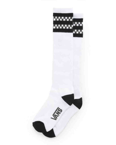 SUMMER CAMP KNEE HI CREW SOCK BLACK