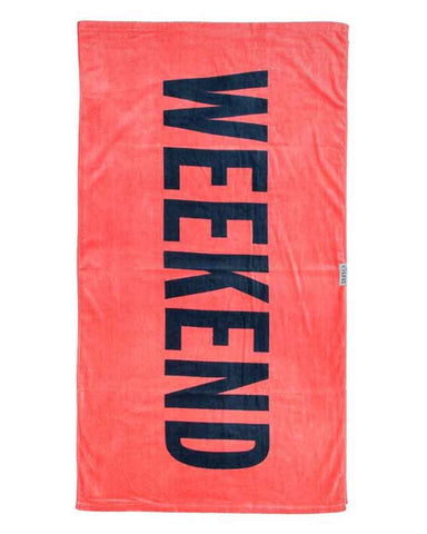 SURF TOWEL WEEKEND