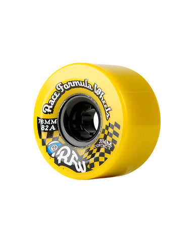RACE FORMULA CENTER 76MM YELLOW