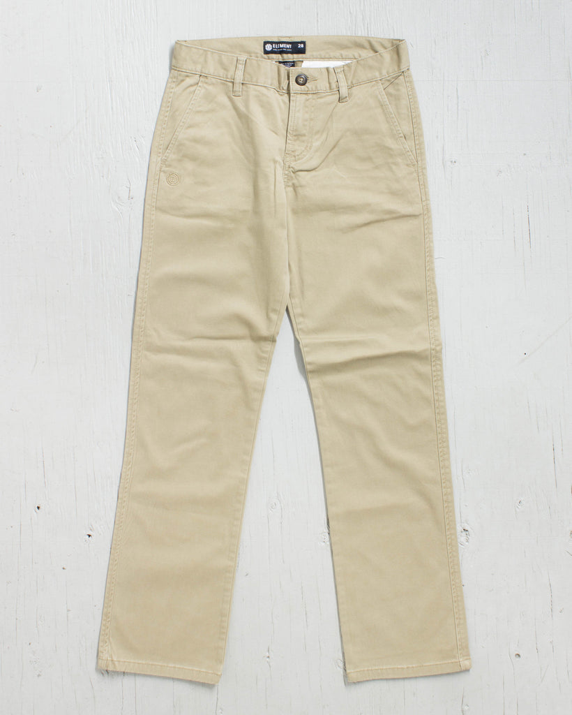 Trousers ELEMENT BOYS HOWLAND FLEX KHAKI