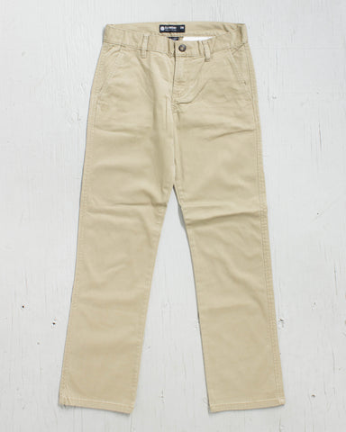 ELEMENT -BOYS HOWLAND FLEX KHAKI - 1