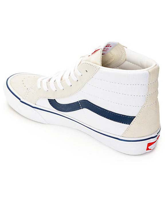 SK8-HI REISSUE PRO 50TH '81 WHITE/NAVY