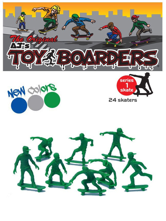 Divers TOYS BOARDERS SKATE SERIES 1 GREEN