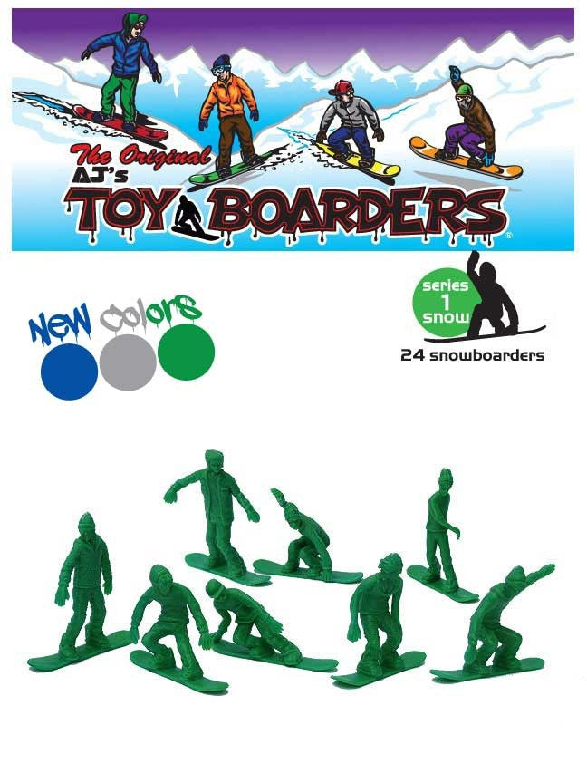 TOYS BOARDERS -SNOW SERIES 1 GREY  - 2