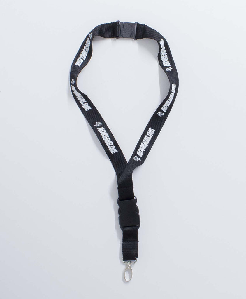 Key ring ADRENALINE BLACK LANYARD