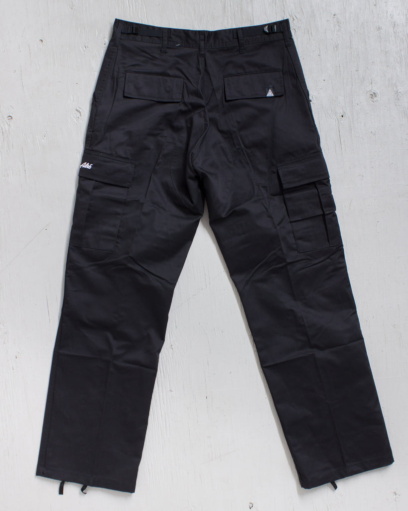 Cargo pants ADRENALINE ADRE CARGO ZIP RELAX FIT BLACK