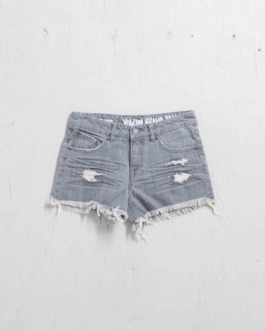 STONED SHORT GRAY VINTAGE
