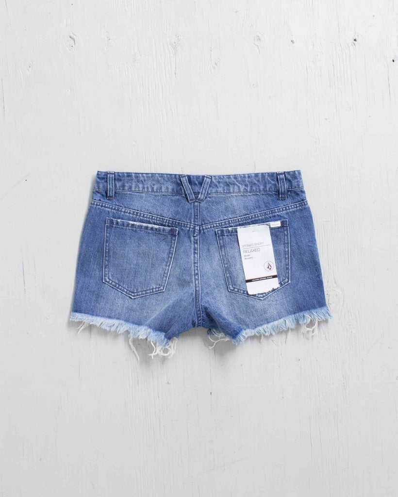 Short VOLCOM STONED SHORT RETRO BLUE