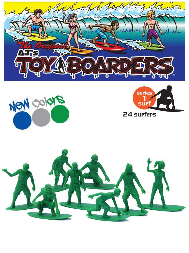 Various TOYS BOARDERS SURF SERIES 1 ROYAL