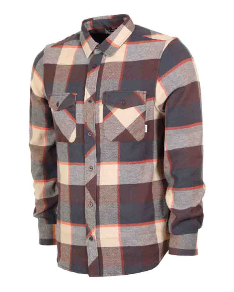 Chemise ELEMENT TACOMA 3C LS CHOCOLATE